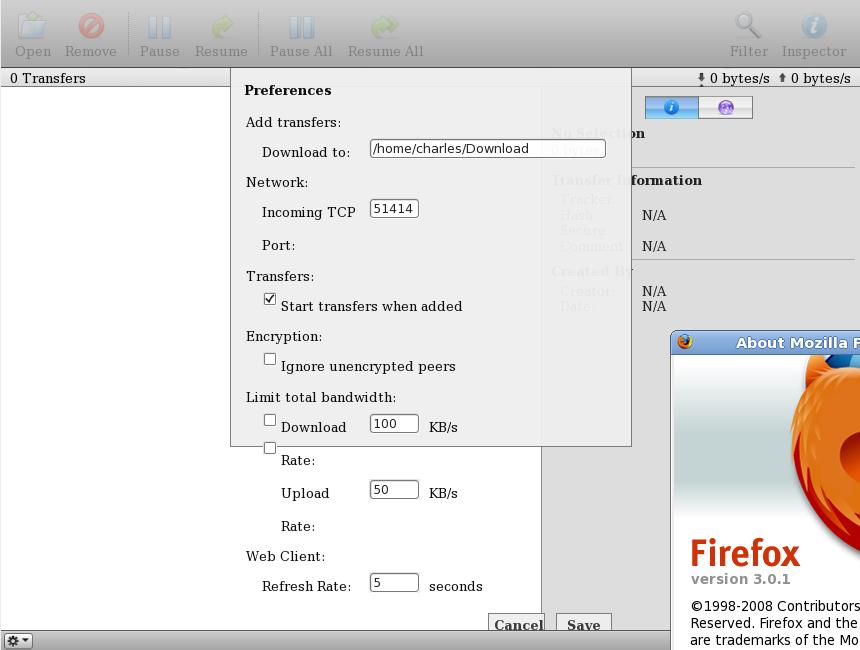 1183 (Clutch's prefs dialog looks very bad on Linux + Firefox 3